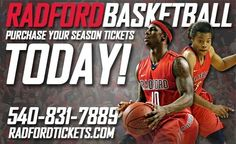 Season tickets for the 2014-15 #RadfordU men's and women's basketball campaigns are on sale now through RadfordTickets.com or by calling 540-831-7889.