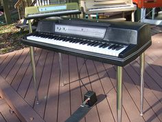 Wurlitzer Electric Piano 200A Black by Vintage Vibe, via Flickr