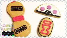 Galletas Cookies, Sugar Cookies, Diy Cookie Cutter, Cute Themes, Naruto Gaara, Cute Desserts, Dessert Decoration, The Dish, Cookie Recipes