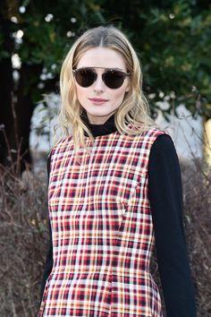 Olivia Palermo Photos: Christian Dior : Front Row - Paris Fashion Week - Haute Couture Spring Summer 2016