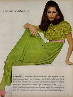ANN TURKEL BY DAVID BAILEY Vogue Editorial The American Custom, October 1967