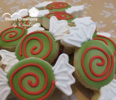 Christmas Candy cookies