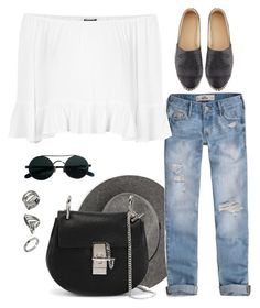 """""""Untitled #170"""" by thewestcoastrunaway ❤ liked on Polyvore featuring MANGO, ASOS, Hollister Co., Chloé, Chanel and Topshop"""
