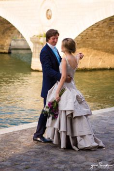 Relaxed Wedding Portraits in Paris - Paris Love Story by Gina Brocker Photography