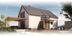 Massivhaus mit Satteldach: Beipielplanung 2 - jetzthaus