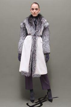 Saint Laurent Pre-Fall 2011 Fashion Show - Zuzanna Bijoch (NEXT)