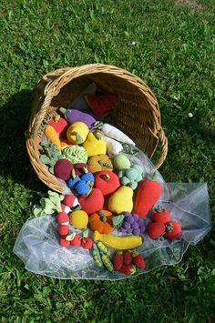 Návod na háčkované ovoce a zeleninu - 20 druhů