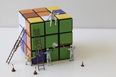 Miniature photography 002x - The Puzzle | Flickr - Photo Sharing!