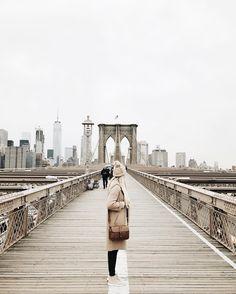Instagram photo by @mandinelson_ Wanderlust Travel, Places To Travel, Places To See, Travel Destinations, Brooklyn Bridge, Nyc, New York City, Adventure Travel, Adventure Awaits