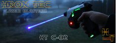 Hron Tec HT C-02 1,2W Blue Laser gun w. Sound & Light Guns, Blue, Weapons Guns, Revolvers, Weapons, Rifles, Firearms