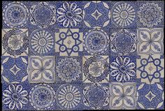 Emery & cie - Tiles - Fez Pottery - Examples Handmade tiles can be colour coordinated and customized re. shape, texture, pattern, etc. by ceramic design studios