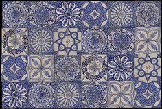tiles from Fez by emery et cie - hm, kanske inte i år men nån dag...