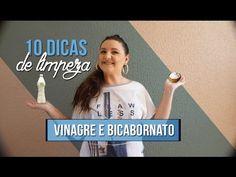 10 dicas de limpeza usando Bicarbonato e Vinagre - YouTube