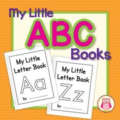 Alphabet Books: ABC Books for Preschool, Pre-k and Kindergarten