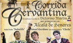 La polémica taurina se cierra con el cartel de la Corrida Cervantina - http://www.dream-alcala.com/la-polemica-taurina-se-cierra-con-el-cartel-de-la-corrida-cervantina/