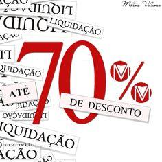 MILENE VELANES, liquidação de 70%. Promoção válida por tempo determinado. Itamaraju | Bahia.