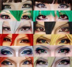 Eyes make up collection by mollyeberwein.deviantart.com on @DeviantArt