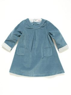 Amelia Girls: Nora Round Collar Dress
