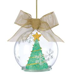 Lenox Lit Wonder Ball Hanging Ornament Tree Green -- You can get more details by clicking on the image.