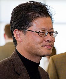 Jerry Yang (born November is a Taiwanese-born American internet entrepreneur, the co-founder and former CEO of Yahoo! Jerry Yang, Steve Ballmer, Tech Stocks, Internet Entrepreneur, Business Stories, Asian American, S Quote, Co Founder, November