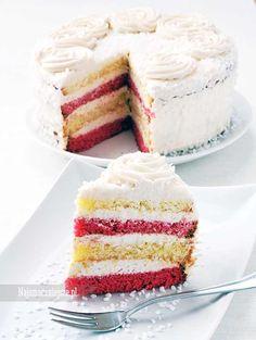 Tort z mascarpone, biszkopt, tort z kremem, tort zimowy, serek mascarpone, najsmaczniejsze.pl