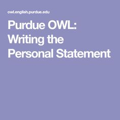social work personal statement examples
