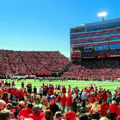 Another beautiful fall day in Lincoln.  No better place to be than Memorial Stadium to watch the Huskers!
