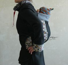 Tutorial for a baby-carrying jacket!