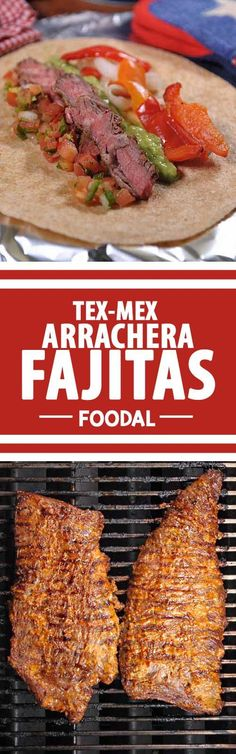 Are you looking for the perfect fall game day recipe? One that is also suitable for tailgating and grilling? Look no further than this tasty fajita recipe made with a traditional marinade and skirt steak! Get the recipe now: http://foodal.com/recipes/beef