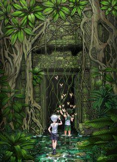 Hunter X Hunter: The Ruins | Killua Zoldyck and Gon Freecss | by Shailo on DeviantArt