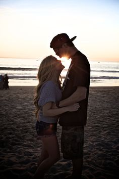 The beach makes everything romantic<3