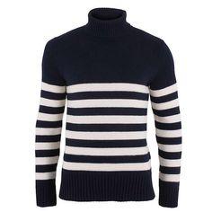 Striped Submariner Sweater at Nauticalia - Shop Online.