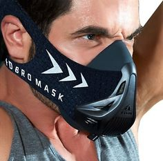 No it's not a Halloween mask! It is a sports endurance mask for those ready to reach new heights. Step up your game and order yours today! Cross Training Workouts, Running Workouts, Running Training, Weight Training, Weight Lifting, Strength Training, Cardiovascular Activities, Cycling Mask, Anaerobic Exercise