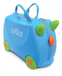 Check out this nice Kids Luggage - Trunki Original Kids Ride-On Suitcase and Carry-On Luggage - Terrance (Blue) Kids Luggage, Hand Luggage, Carry On Luggage, Travel Luggage, Childrens Luggage, Luggage Suitcase, Travel Uk, Travel Toys, The Journey