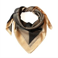 LINK Folded Paper Furoshiki Black Scarf (140 BRL) ❤ liked on Polyvore featuring accessories, scarves, folding scarves, striped shawl, print scarves, wrap shawl and striped scarves