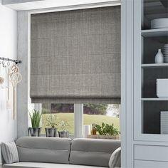 9 Good Tricks: Fabric Blinds Diy blinds for windows bedrooms.Diy Blinds For Windows diy blinds for windows. Blue Roman Blinds, Grey Roller Blinds, Grey Blinds, Modern Blinds, Shades Blinds, Roman Shades, Patio Blinds, Outdoor Blinds, Bamboo Blinds