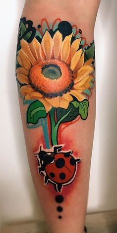 There are over 30 varieties of sunflowers, and they've had quite the history!If you aren't considering a sunflower tattoo now, you may change your mind once you've discovered their epic tale. Sunflower Tattoos, Sunflower Tattoo Design, Unique Tattoos For Women, Tattoo Now, Sunflowers, Tattoo Designs, Change, History, Style