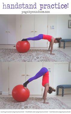 Wearing: nina b roze pants, sweaty betty tank. Using: stability ball.
