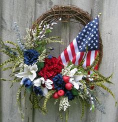Image result for patriotic wreath