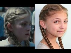 Magnificent Double French Braids With Messy Flips Cute Girls Hairstyles Short Hairstyles Gunalazisus