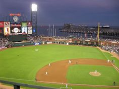 AT&T Park, San Francisco Giants.