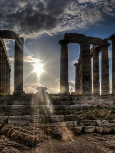 GREECE CHANNEL | #Greece, temple of Poseidon, Sounion http://www.greece-channel.com/