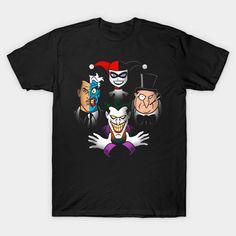 Craziest Rhapsody T-Shirt - Batman Villains T-Shirt is $13 today at TeePublic!