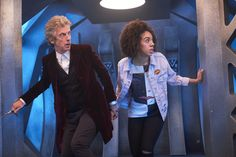 Doctor Who The Pilot Series 10 Pearl Mackie Bill Potts New Doctor Who, 12th Doctor, Twelfth Doctor, The Girl Who, My Girl, Skateboarding Quotes, Bill Potts, Famous Day, Today Quotes