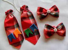 gravata de festa junina