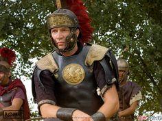 "The amazing James Purefoy as ""Mark Antony"" in HBO's ROME. As Roma, Ancient Rome, Ancient Greece, Rome Hbo, Rome Tv Series, Dominic West, Mark Antony, James Purefoy, Greek Warrior"