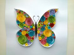 This is one of QuillingCF's tutorial videos on how to make quilling art. In this video, QuillingCF will instruct you how to make quilling art gives forms or . Diy Quilling, Quilling Butterfly, Quilling Videos, Paper Quilling For Beginners, Paper Quilling Tutorial, Paper Quilling Jewelry, Quilled Paper Art, Paper Quilling Designs, Quilling Paper Craft