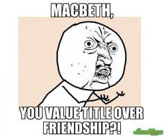 Macbeth Themes – Relationships In Macbeth