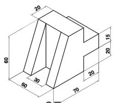 Isometric Drawing Exercises, Autocad Isometric Drawing, Engineering Notes, Mechanical Engineering Design, Drawing Book Pdf, Cad Drawing, Geometric Shapes Drawing, Cad 3d, Orthographic Drawing