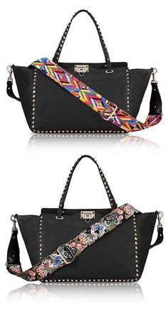 Valentino Guitar straps for handbags | Resort 2016 Collection